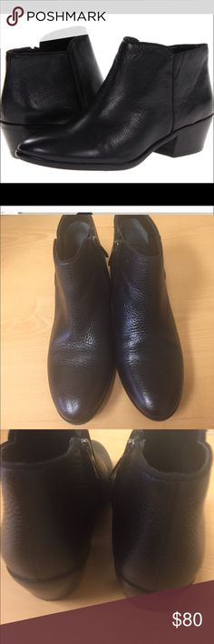 "Sam Edelman ""Petty"" Booties Black Leather Size 7 Sam Edelman ""Petty"" Booties Black Leather Size 7. Display shoe with no defects. Excellent like new condition. Sam Edelman Shoes Ankle Boots & Booties"