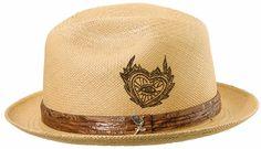 I want these! Carlos Santana Men's Leather Panama Hat (SAN100)