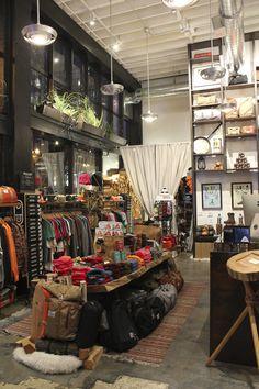 takeshi-offline: Poler Our Portland flagship store.  #poler #polerstuff #campvibes