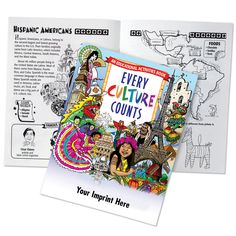 Every Culture Counts Educational Activities Book