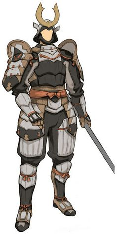 View an image titled 'Samurai Concept Art' in our Final Fantasy XI art gallery featuring official character designs, concept art, and promo pictures. Fantasy Samurai, Samurai Concept, Samurai Armor, Fantasy Armor, Character Concept, Character Art, Concept Art, Character Design, Fantasy Inspiration