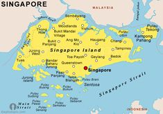 Singapore Map Tourist Attractions - http://travelquaz.com/singapore-map-tourist-attractions-2.html