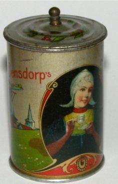 Very small Bensdorp's Cacao tin