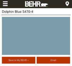 Behr Dolphin Blue