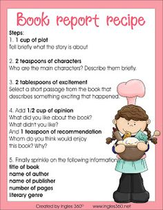 Have fun with book reports!