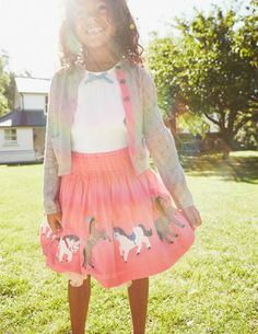 I've spotted this @BodenClothing Fun Appliqué Skirt