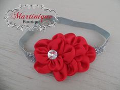 A personal favorite from my Etsy shop https://www.etsy.com/listing/220364569/valentines-day-headband-red-satin-bling