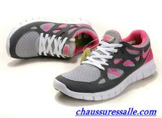 low priced ed591 d1edf Vendre Chaussures nike free run 2 Femme F0021 Pas Cher En Ligne. Pink Running  Shoes
