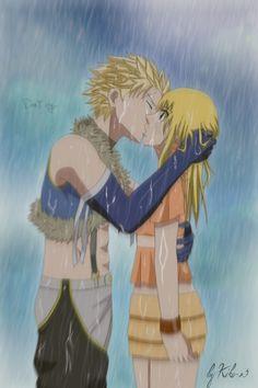 StingxLucy - Kiss Under The Rain by Kiko-x3.deviantart.com on @deviantART