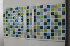 Tic Tac Tile - Self adhesive 3D wall tile.