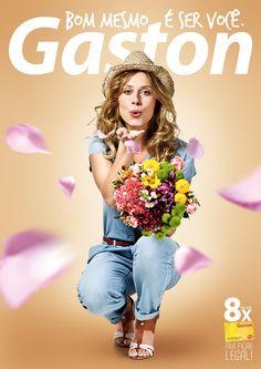 Campanha Institucional Gaston no Behance
