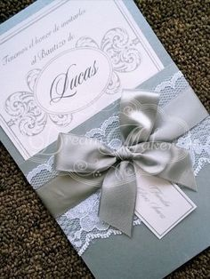 Baptism Invitation Announcement by DreamMakersInvites on Etsy, $100.00