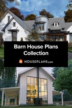 looking for barndominium ideas? Explore our collection of barn house plans. Questions? Call 1-800-913-2350 today. #blog #architecture #modern #bungalow #architect #architecture #buildingdesign #country #craftsman #houseplan #homeplan #house #home #homeblog Barn House Plans, Barn Plans, Country House Plans, House Floor Plans, Building Design, Building A House, Gambrel Roof, Modern Bungalow, Modern Farmhouse Kitchens