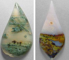 Agate paysage des formes de paysage dans des pierres  2Tout2Rien