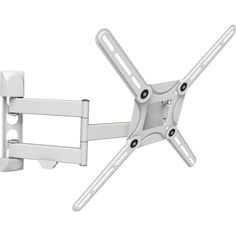 Barkan Full Motion Curved / Flat Panel Dual Arm TV Wall Mount For 29 In.