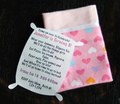 An quot almost quot slumber party invite so cute more