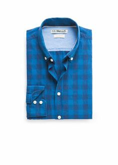 Mango - Slim-fit gingham check shirt £25 (bought)