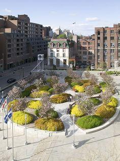 Esplanade du Palais des Congrès de Montréal