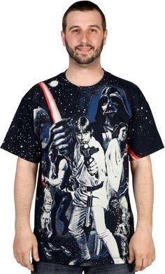 In A Galaxy Far Far Away Star Wars Shirt