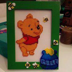 Winnie the Pooh hama mini beads by latanadelconiglio