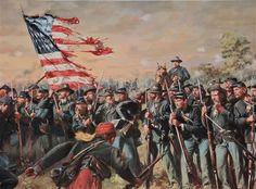 Battle of Gettysburg - 7-2-63 - General Winfield Hancock. 1st Minn Vol Inf
