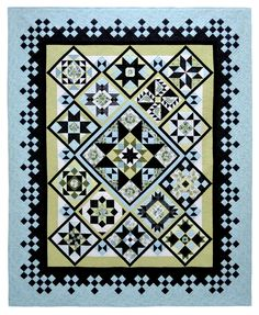 Blogger's Quilt Festival: Large Quilt Category » First Light Designs