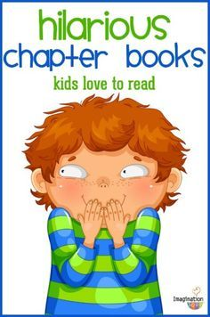 Books for Kids Funny chapter books for kids (that will get them reading!)Funny chapter books for kids (that will get them reading! Kids Reading, Reading Activities, Teaching Reading, Activities For Kids, Reading Books, Sequencing Activities, Reading Lists, Reading Games, Teaching Art