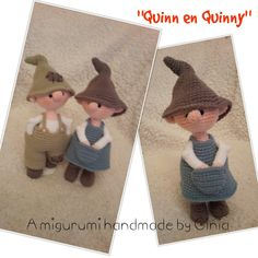 """""""Quinn & Quinny""""  Design and pattern by Ginia Mees"""