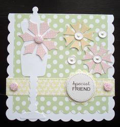 Card using Craftwork Cards 'Macaroon' Goody Box.