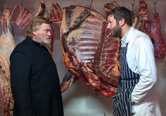 """Jack Brennan (Chris O'Dowd) to Father James Lavelle (Brendan Gleeson): """"I think she's bipolar, or lactose intolerant, one of the two."""" -- from Calvary (2014) directed by John Michael McDonagh"""