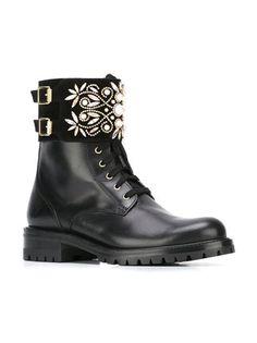 René Caovilla lace-up buckled ankle boots Rene Caovilla, Designer Boots, Knee Boots, Saint Laurent, Lace Up, Men Dress, Dress Shoes, Ankle, Shopping