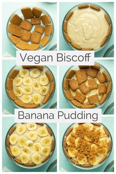 This creamy, Southern-style vegan banana pudding uses Biscoff cookies instead of vanilla wafers. Get ready to experience maximum dessert decadence, y'all!  #bananapudding #biscoff #pudding #vegan #tofu #creamy #southern #recipe #easy #homemade