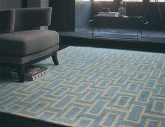 Intaglio 37208 Blue Rugs by Wedgwood