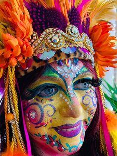 Ethereal Makeup, Crown Art, Maquillaje Halloween, Fairy Makeup, Holiday Makeup, Cosplay, Creative Makeup, Kids Events, Interesting Faces
