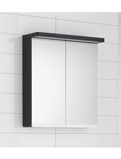 Spegelskåp Hafa Sun 900 Svart Ek Bathroom Medicine Cabinet, Sun, Mirror, Furniture, Home Decor, Decoration Home, Room Decor, Mirrors, Home Furnishings