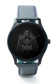 Wrist Watches India |Batman Illustration Premium Men Wrist WatchOnline India.