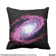 The Nebula X beautiful watercolour artwork 2 side