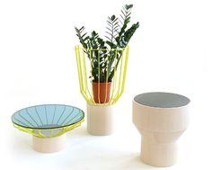 'Ander' table design by Sebastian Herkner