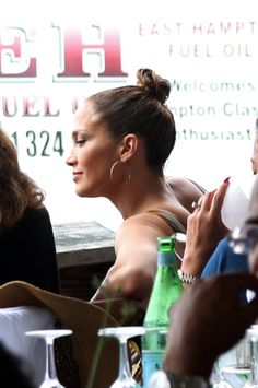 Actress/recording artist Jennifer Lopez attends the Le Bebe Coo Hampton Classic Horse Show Luncheon on August 31, 2014, in Bridgehampton, New York