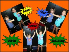 Teach your students to become SUPER WRITERS. Kathy Griffin's Teaching Strategies: BAM! POW! WOW! Get Your Students WRITING!