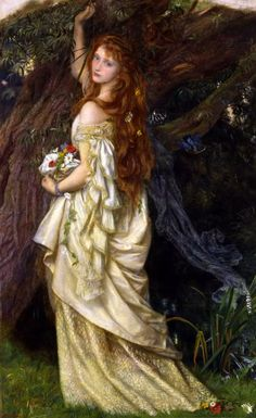 "Arthur Hughes, Ophelia (""And He Will Not Come Back Again"")"