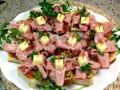 Mini Muffaletta Sandwiches with Caciocavallo Cheese, Photo: NK   Especially since our Sixties-Inspired Party Bites Post the other day, I'...