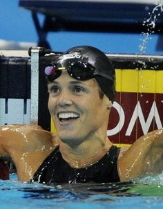The Veteran - Dara Torres- this woman is proof that if you want something bad enough, you can get it.