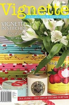 """""""Vignette - Issue 5"""" designed by Leanne Beasley for Leanne's House."""