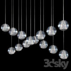 LED pendant chandelier 737 815