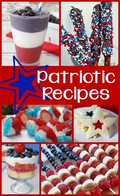 From breakfast dishes and smoothies to appetizers and desserts, you are sure to find a yummy recipe to add a little red, white, and blue to your Fourth of July meals!