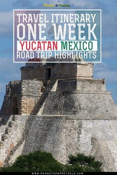 Looking for a great getaway not far from the States?  Don't overlook Mexico!  Mexico is a wonderful place to visit, and it's not all that you hear on the news, especially in the Yucatan Peninsula region.  We spent a week exploring the Yucatan and had an amazing time!