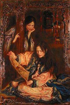 George Tsui ~ Klasszikus / romantikus festő | Tutt'Art @ | Pittura * Scultura * Poesia * Musica |
