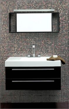 Modern Single Sink Bathroom Vanity T 1000 By Tonusa