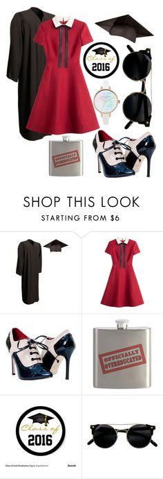 """""""Untitled #60"""" by ginny-forsyth ❤ liked on Polyvore featuring Valentino and graduationdaydress"""